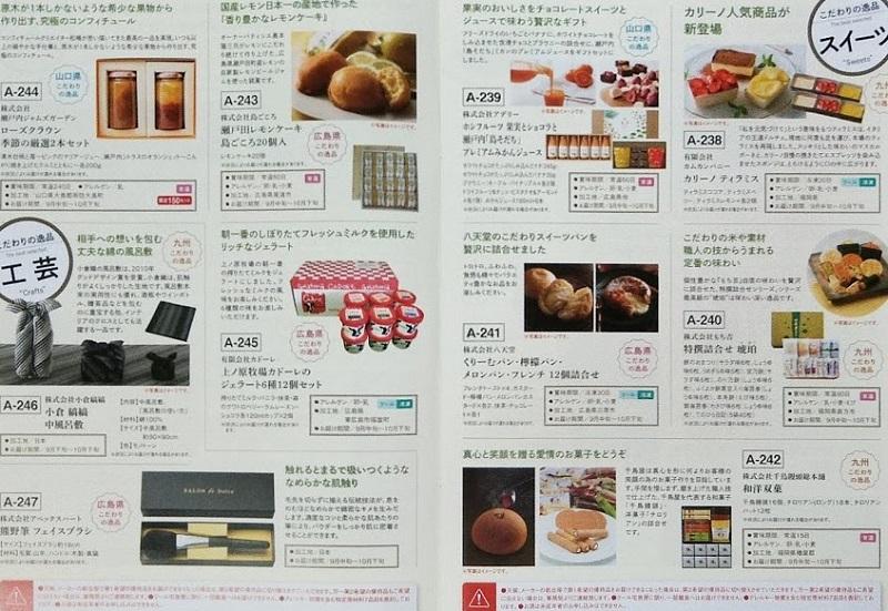 山口フィナンシャルグループ 優待カタログ