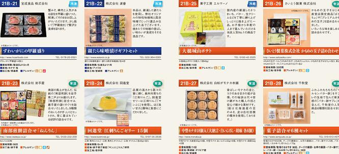 北日本銀行 優待カタログ内容
